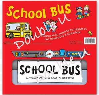 School bus 立體遊戲車車書
