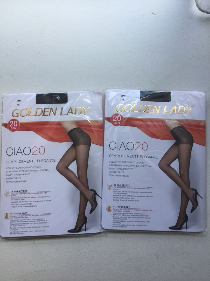 3464520d072 2 pairs Large sheer tights pantyhose (Made in Italy)