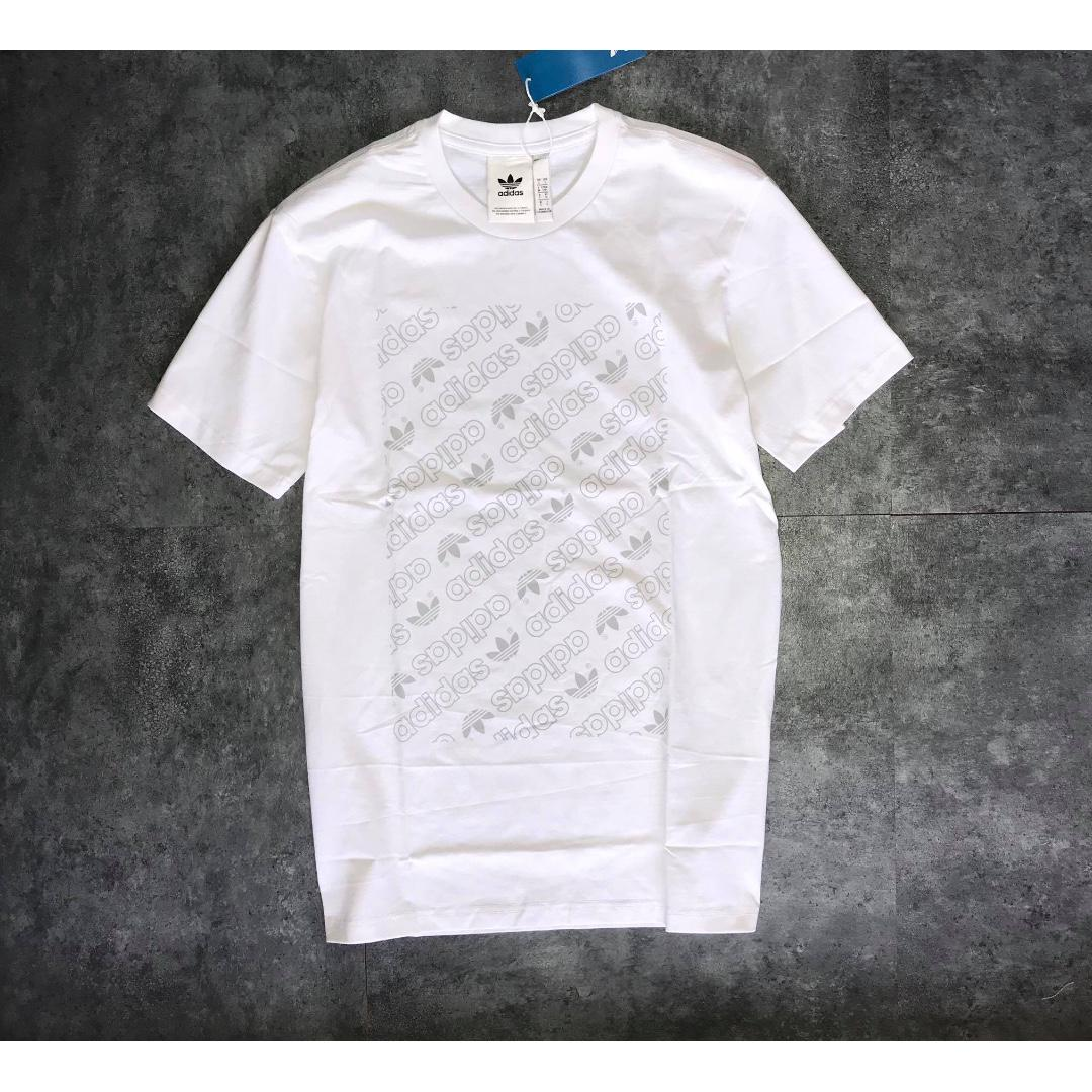 Adidas Originals White T Shirt #springcleanandcarousell50