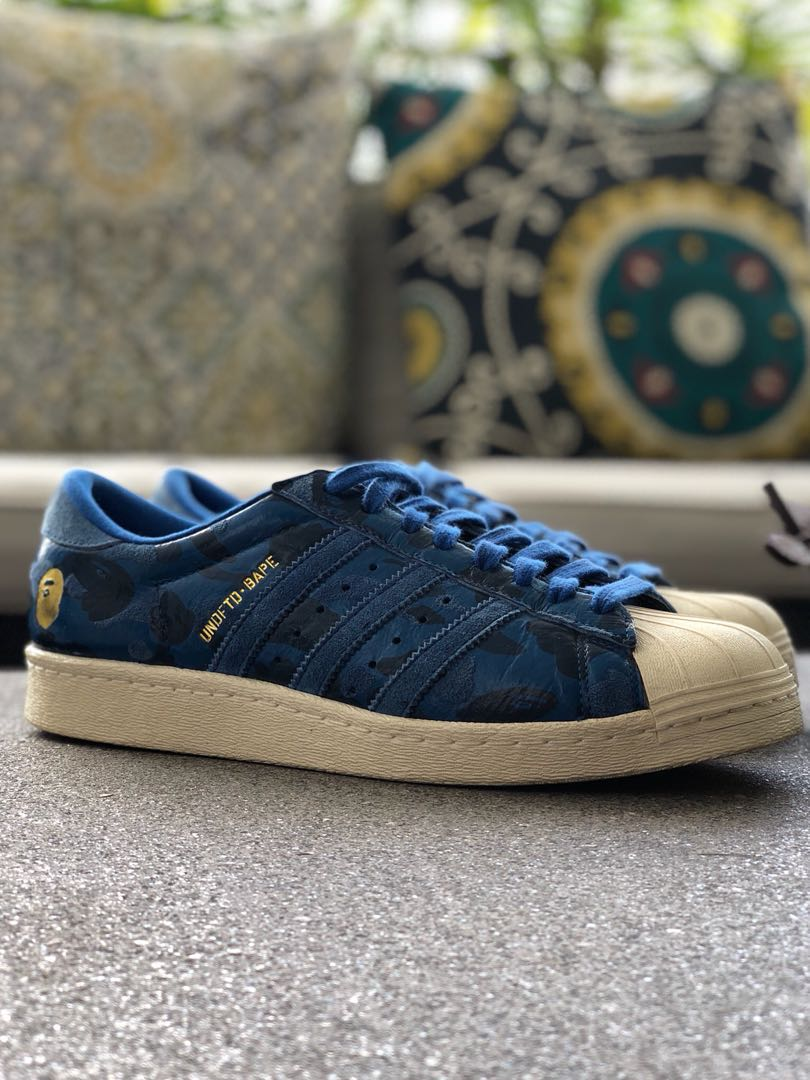 cheap for discount 70df8 28303 Adidas Superstar X UNDFTD X BAPE, Mens Fashion, Footwear, Sn