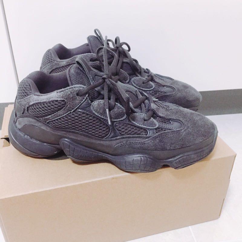 ba27af7bb Adidas yeezy 500 utility black us 8.5 uk 8 eu 42