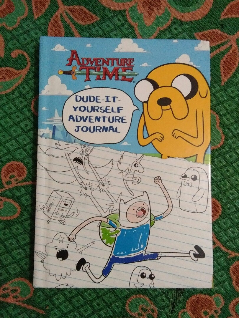 Adventure time dude it yourself adventure journal books photo photo solutioingenieria Choice Image