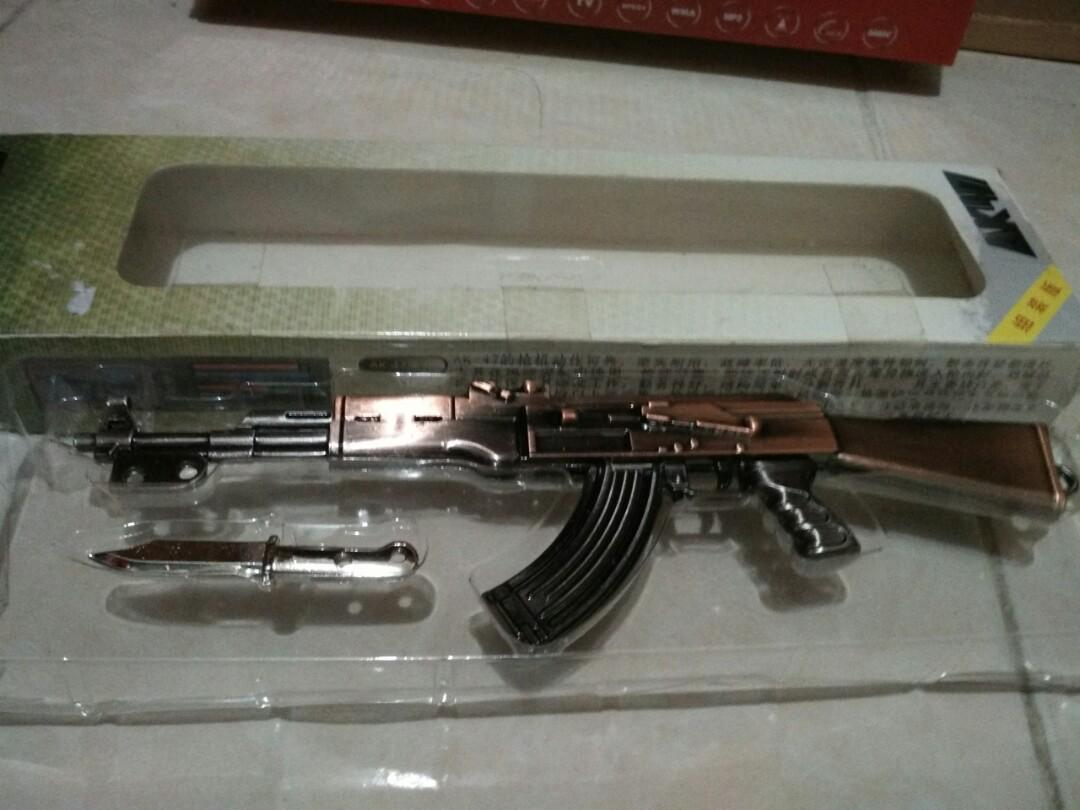 AK47 Die cast model