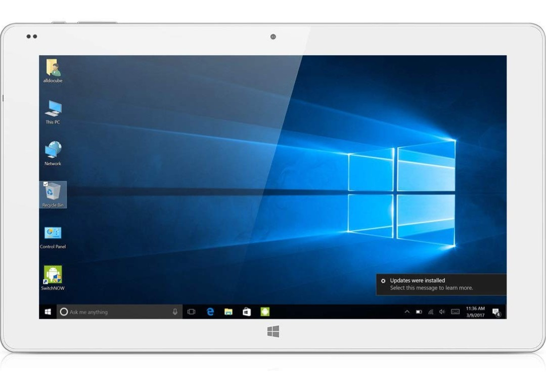 """Alldocube iwork1X 11 6"""" 2 in 1 Ultrabook Tablet Windows 10 + Android 5 1  Intel Atom x5-Z8350 4GB RAM 64GB ROM Tablet PC with 2 0MP Front Camera"""