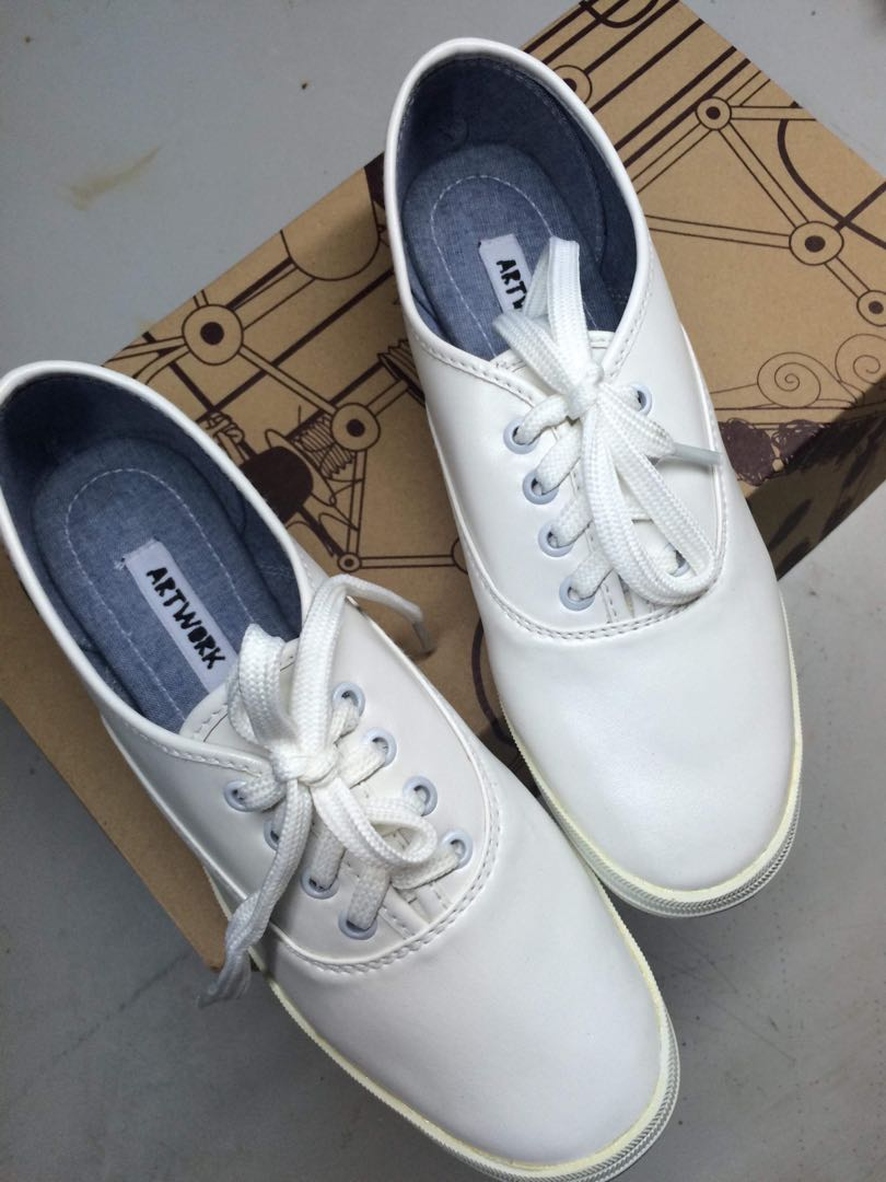 5cdcf75bde8f Artwork White Shoes