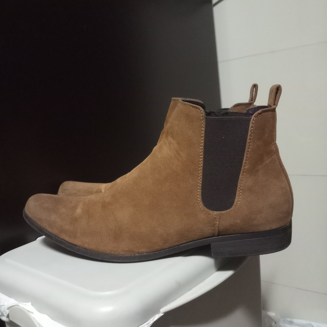 asos chelsea boots men s fashion footwear boots on carousell