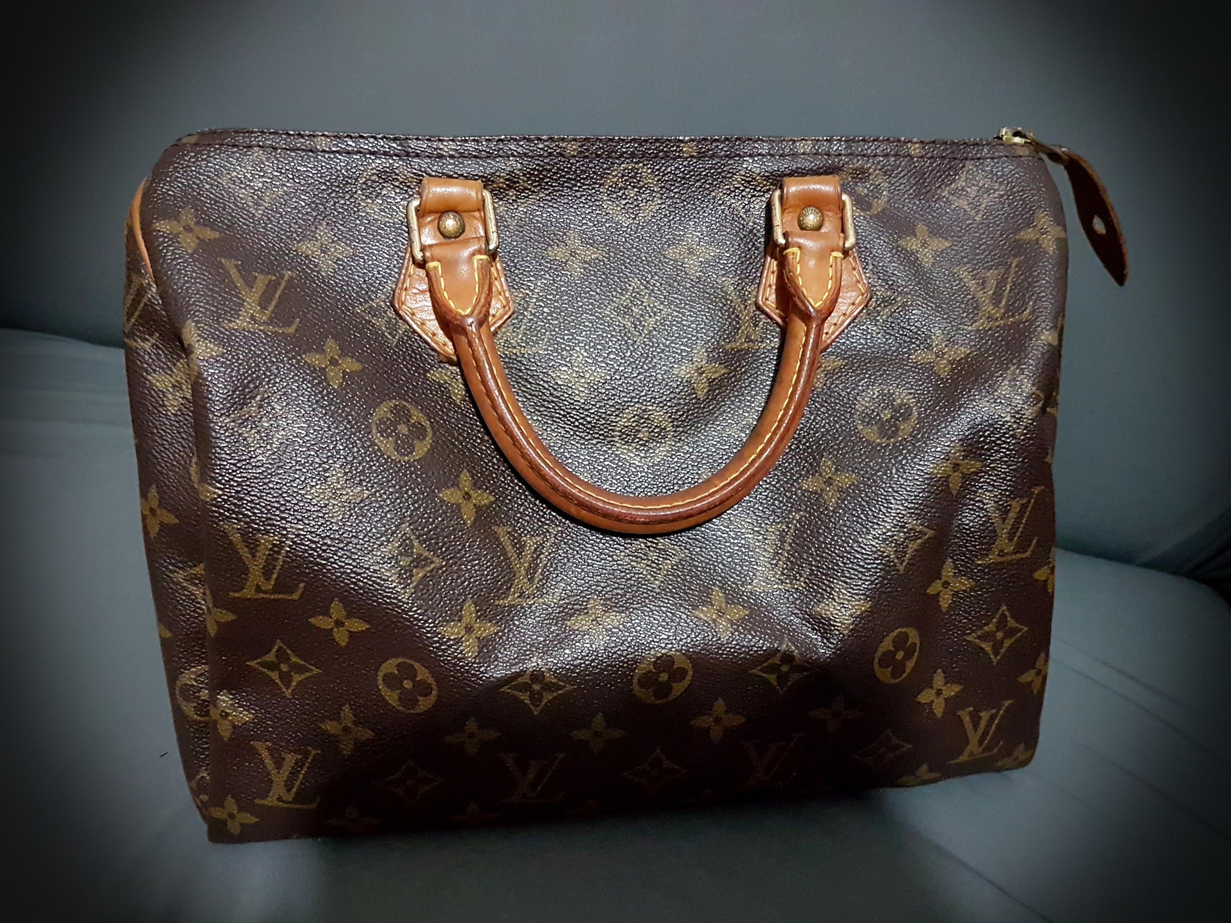 296cfc3c19c9 Authentic Louis Vuitton Speedy 30 Handbag