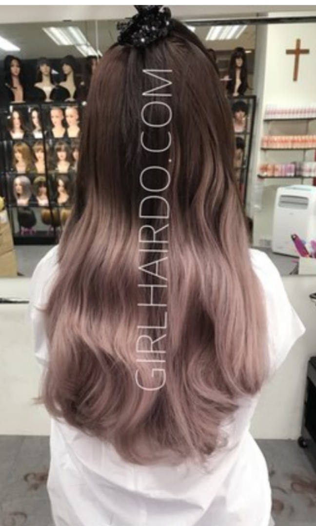 Beautiful Pink Ombre Hair Extension Women S Fashion Accessories