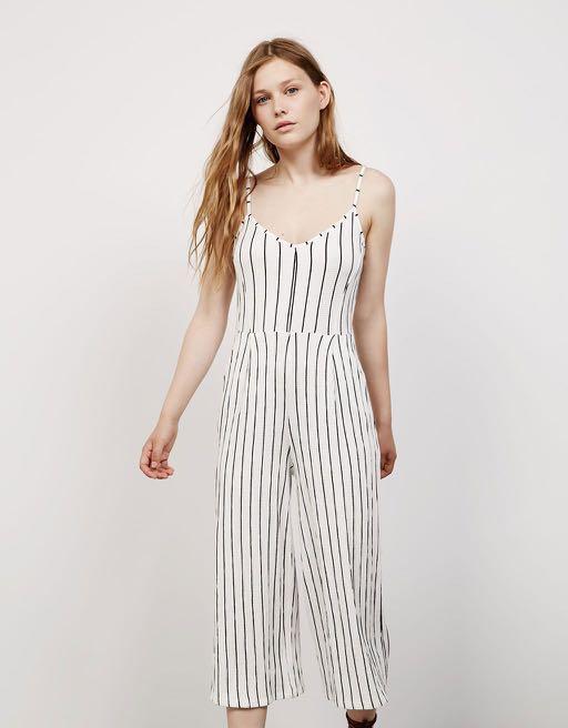 d60f8a31c5fd bershka striped jumpsuit