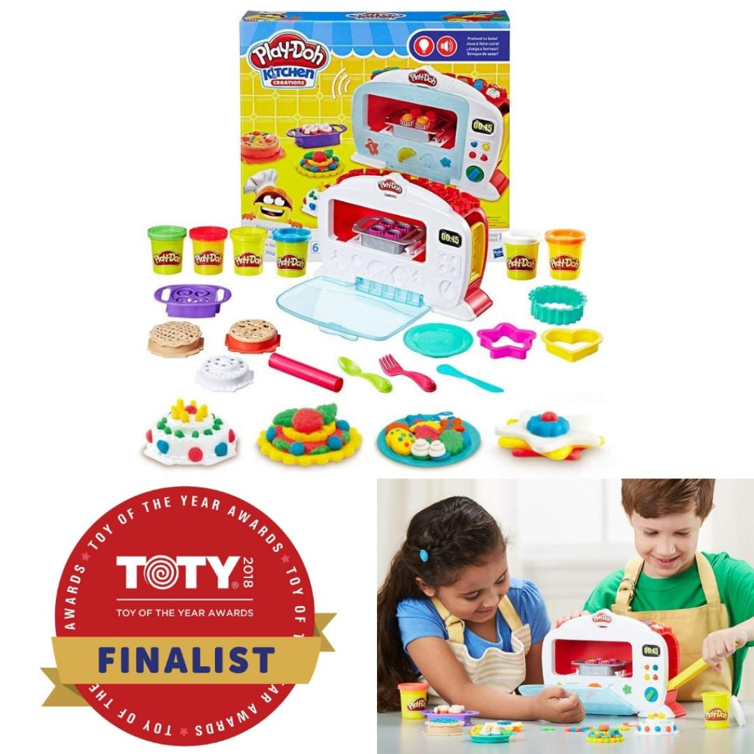 Bnib Play Doh Kitchen Creations Magical Oven Hobbies Toys Toys Games On Carousell