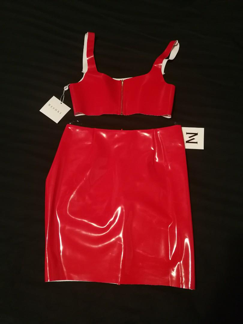 BNWT Latex Meshki Set