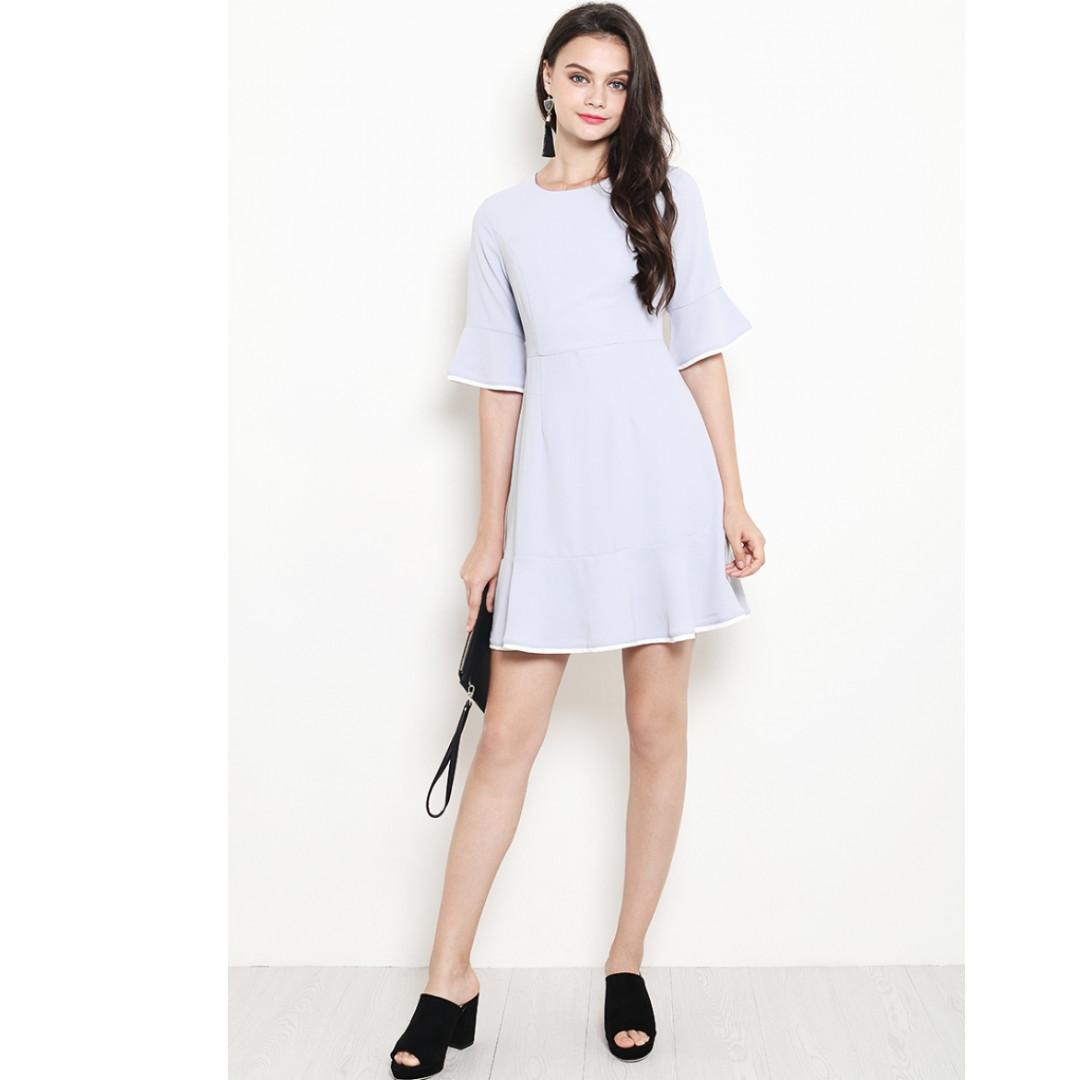 Bnwt Shopsassydream Ssd Breanna Dress Grey Women S Fashion Clothes