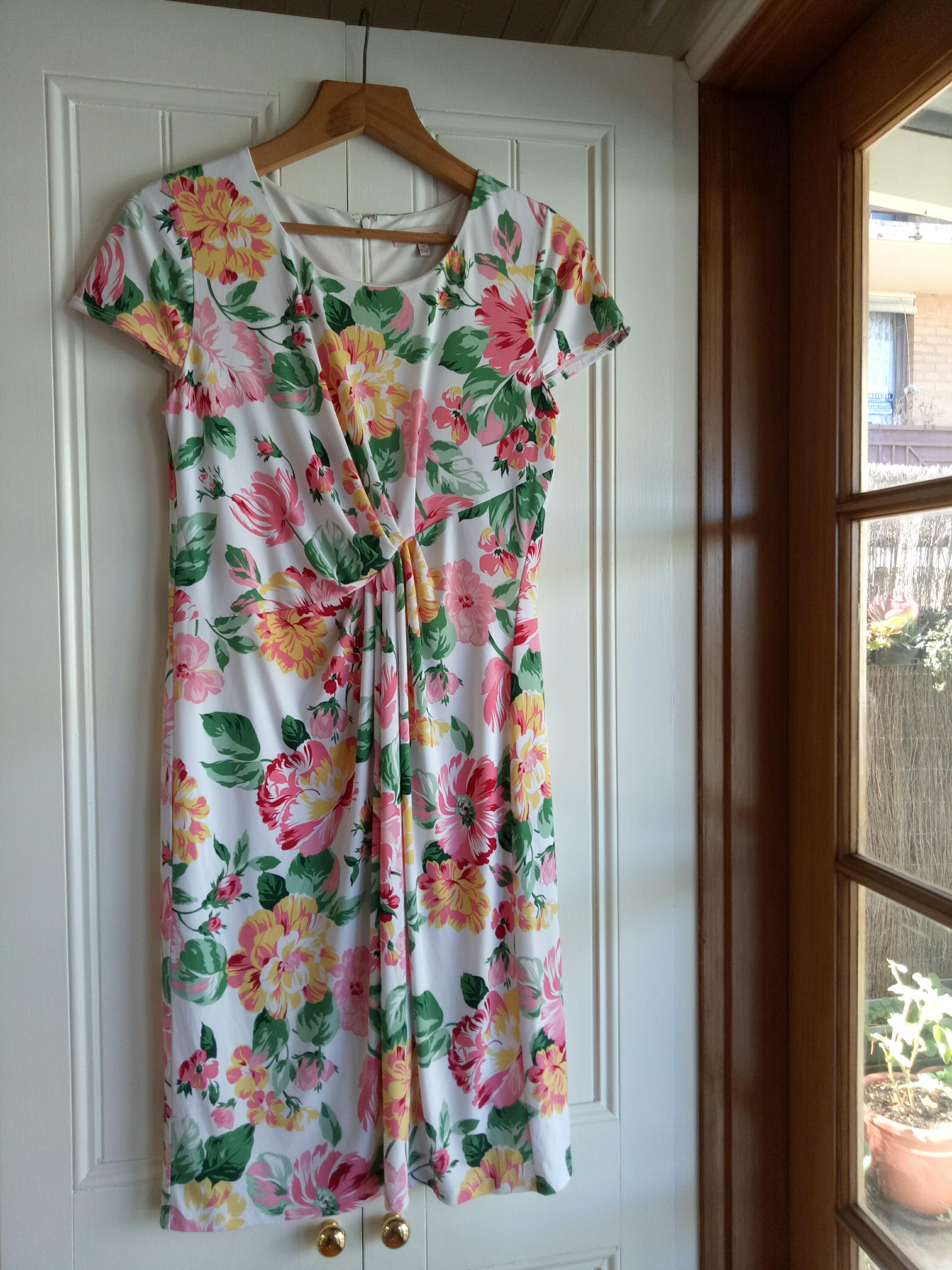 Brand New Diana Ferrari floral dress