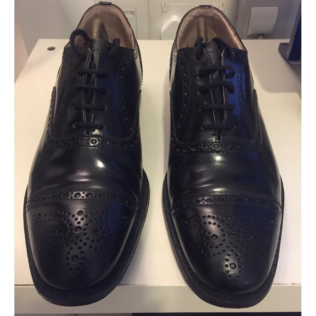 799fc107942 Church s men black colour shoes (size 75 F) 95% new