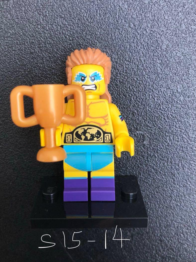 Genuine Lego Mini figure Wrestling Champion from series 15