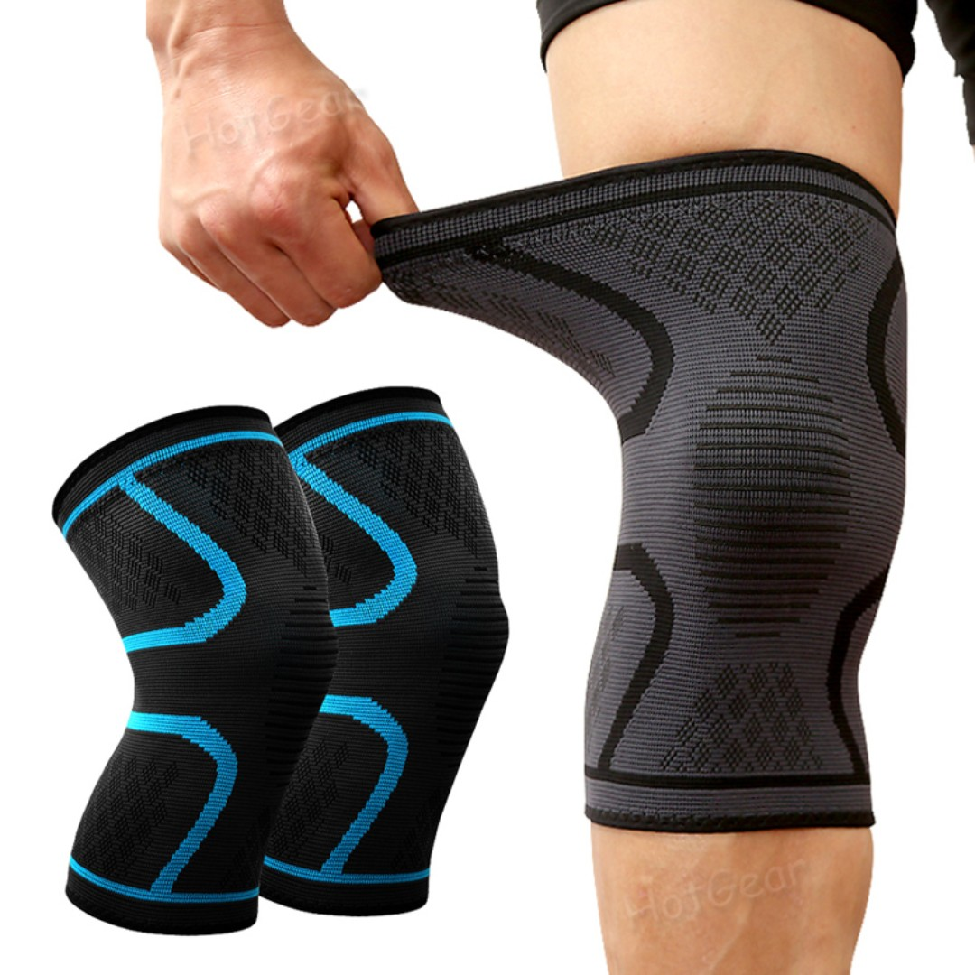 25371a1b73 Compression Knee Guard Breathable Anti Slip Elastic Knees Brace ...