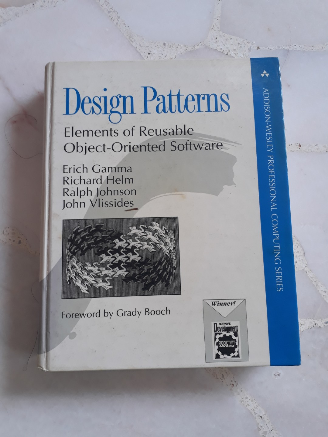 Design Patterns Elements Of Reusable Object Oriented Software Addison Wesley Erich Gamma Richard Helm Ralph Johnson John Vlissides Books Stationery Textbooks Professional Studies On Carousell