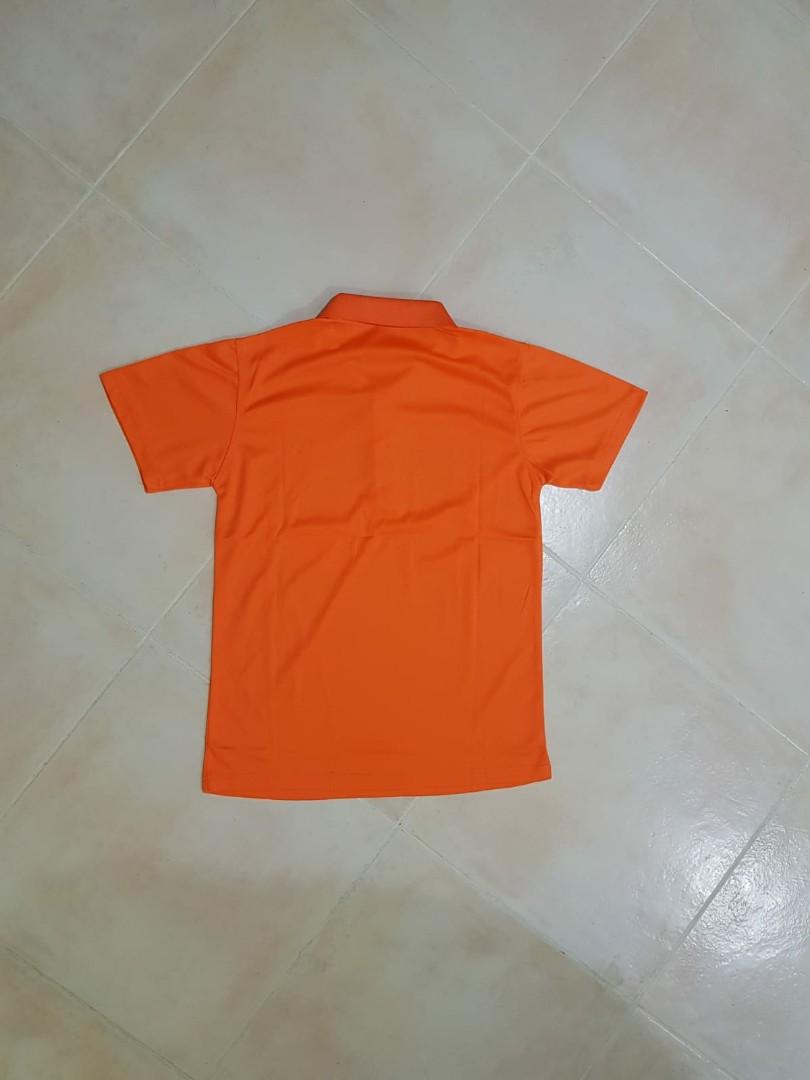 16b216db9 Dry-Fit Sportswear Orange Polo T-Shirt, Men's Fashion, Clothes, Tops ...