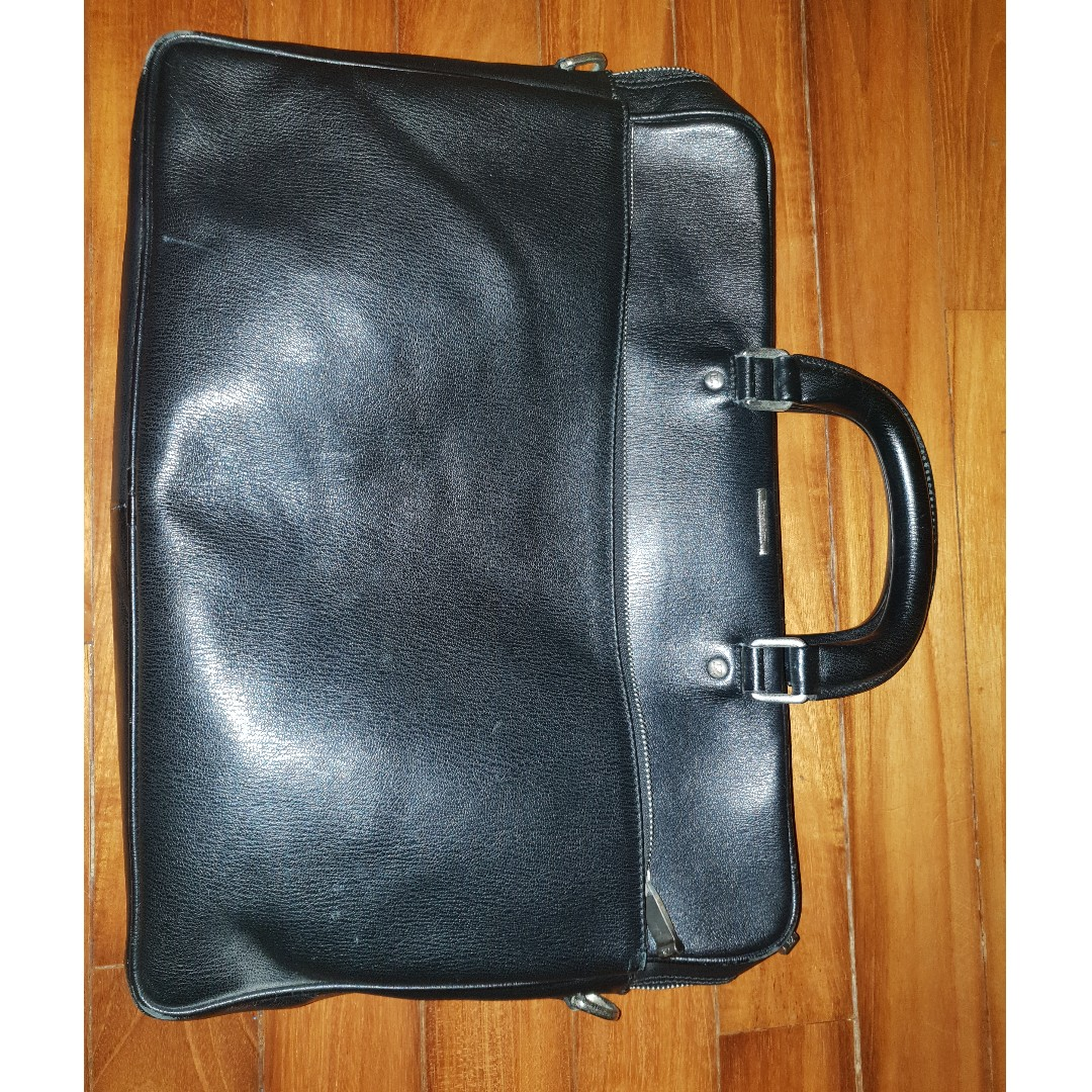 ERMENEGILDO ZEGNA Business Laptop Briefcase For Sale ( Authentic ... 83ddec26aaed7