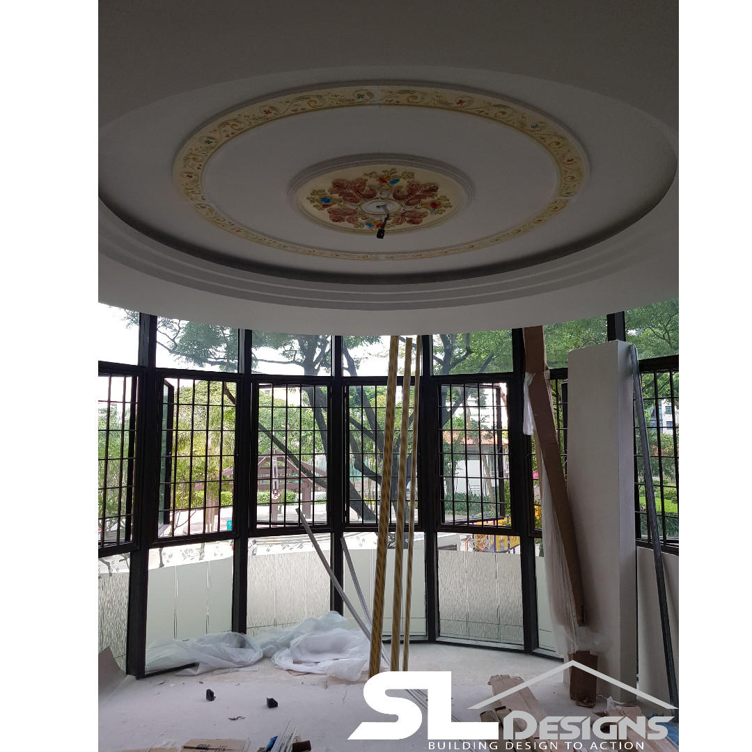 False ceiling plaster work