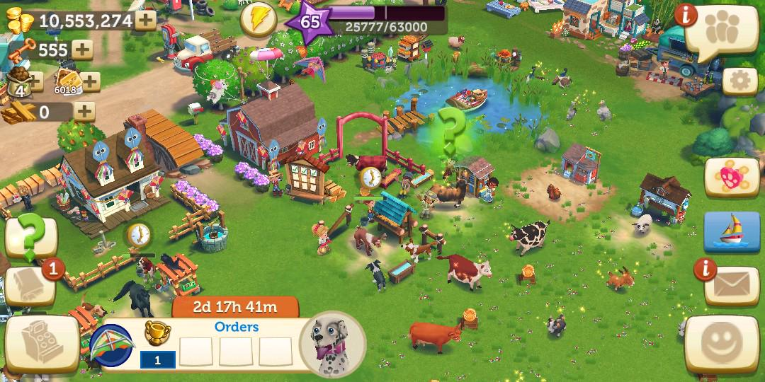 Farmville 2  level 65