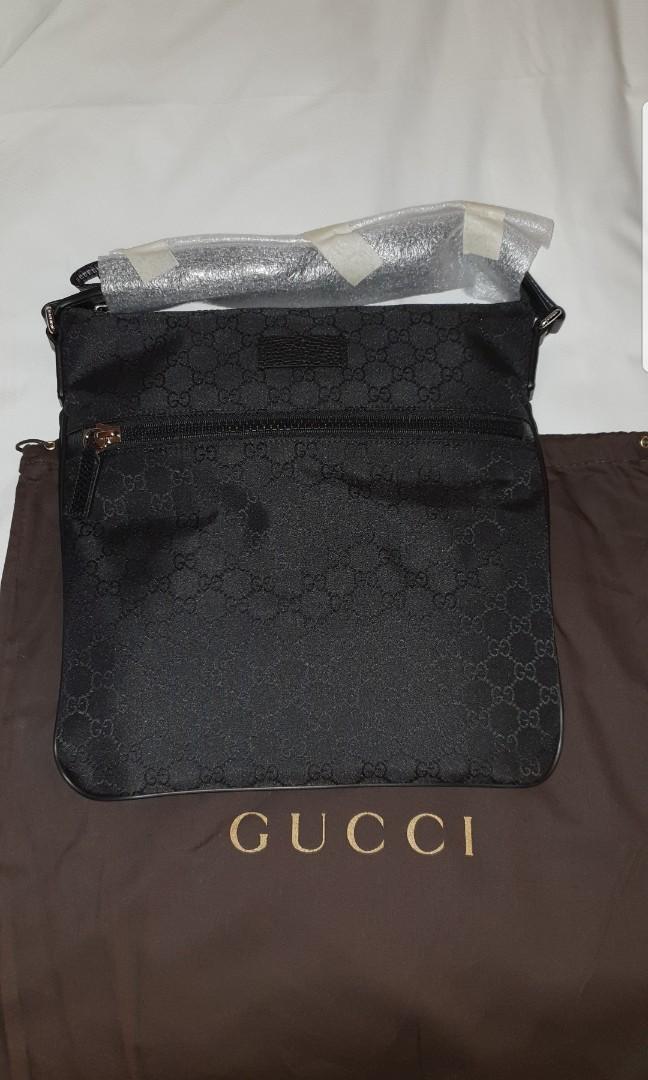 cb8f4159d6bf Gucci sling bag mens GENUINE sale, Luxury, Bags & Wallets, Sling ...