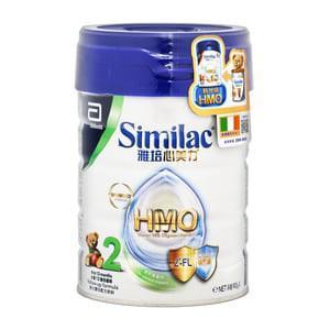 雅培HMO 2號配方奶粉900克