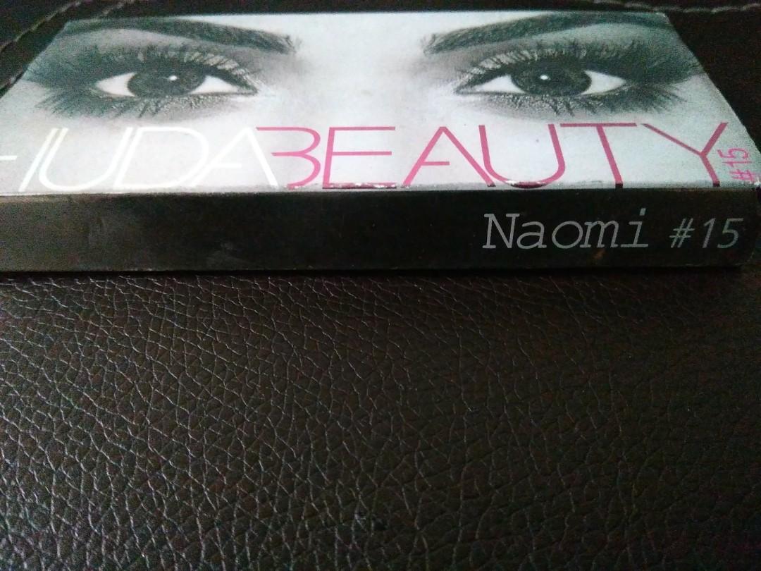 089dbff7462 Huda Beauty fake lash naomi #15, Health & Beauty, Makeup on Carousell
