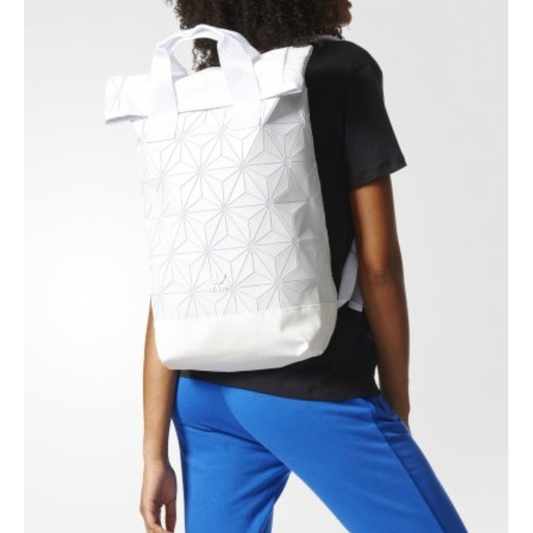23ca2acc0e 🔥In Stock🔥 Issey Miyake x Adidas 3D Rollup Backpack (White ...