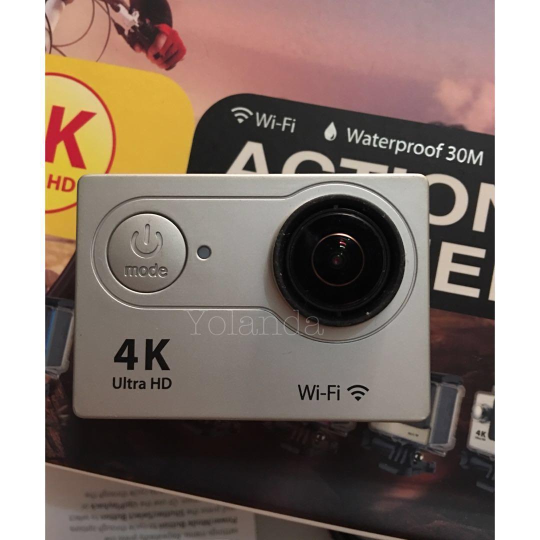 Jual Cepatt Action Cam 4k Ultra Hd Elektronik Lainnya Di Tang Ampere Digital Clamp Meter Kyoritsu 2040 Carousell