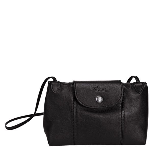 dd921c44fcf4 Longchamp Le Pliage Cuir Crossbody black instock other colours all can  preorder