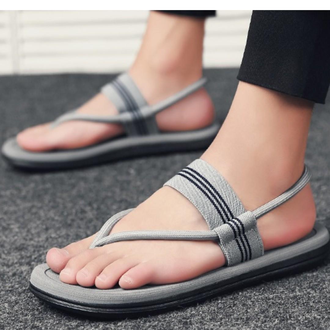 1408ee83863b Mens Sandals Flip flops Slippers Shoes Fashion Comfort Sandals beach ...