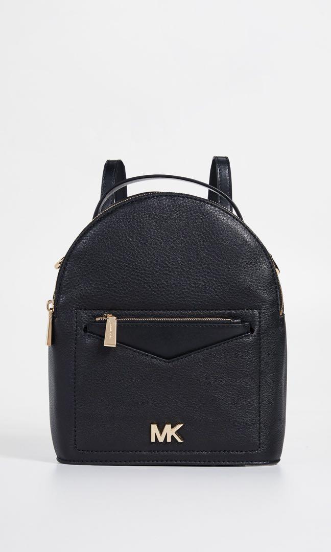514b917ae0e8 Michael Kors Black Convertible Backpack, Women's Fashion, Bags ...