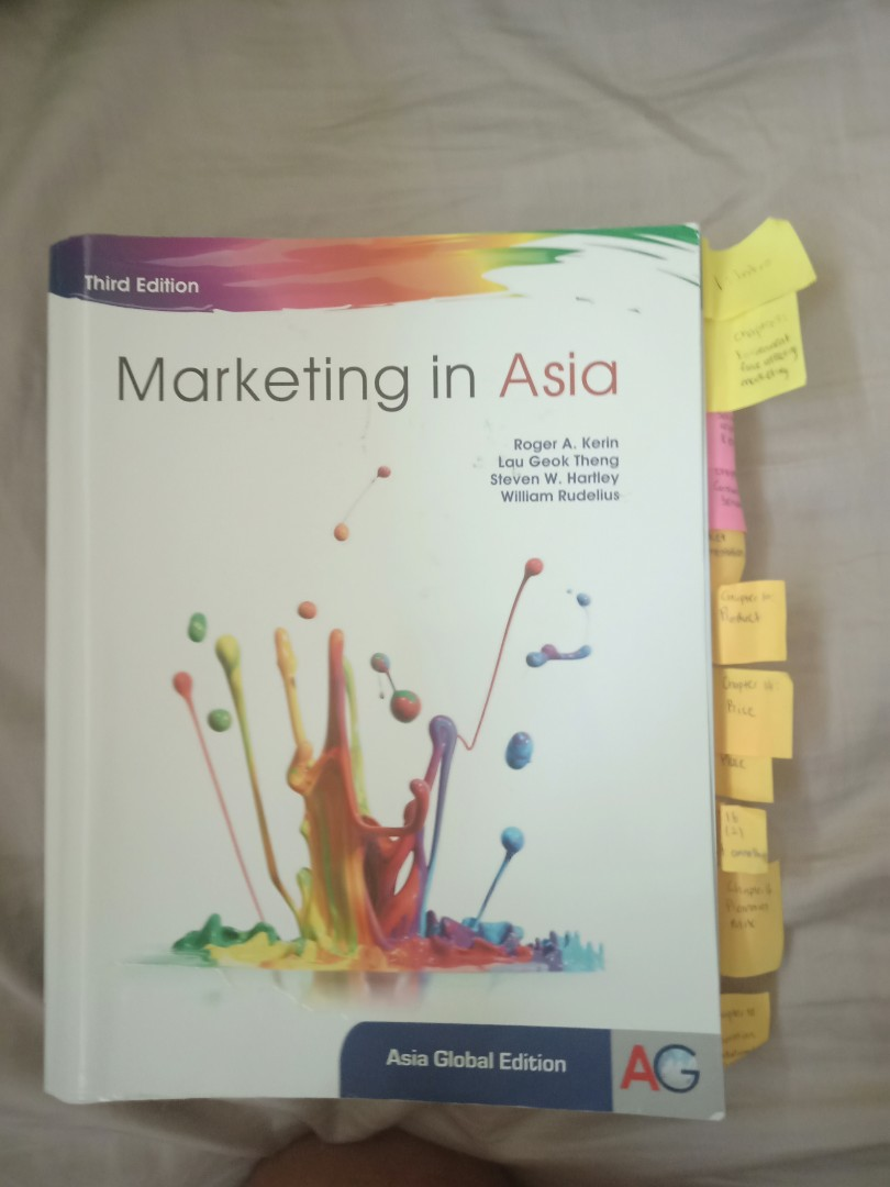 MKT1003 Textbook Marketing in Asia 3rd