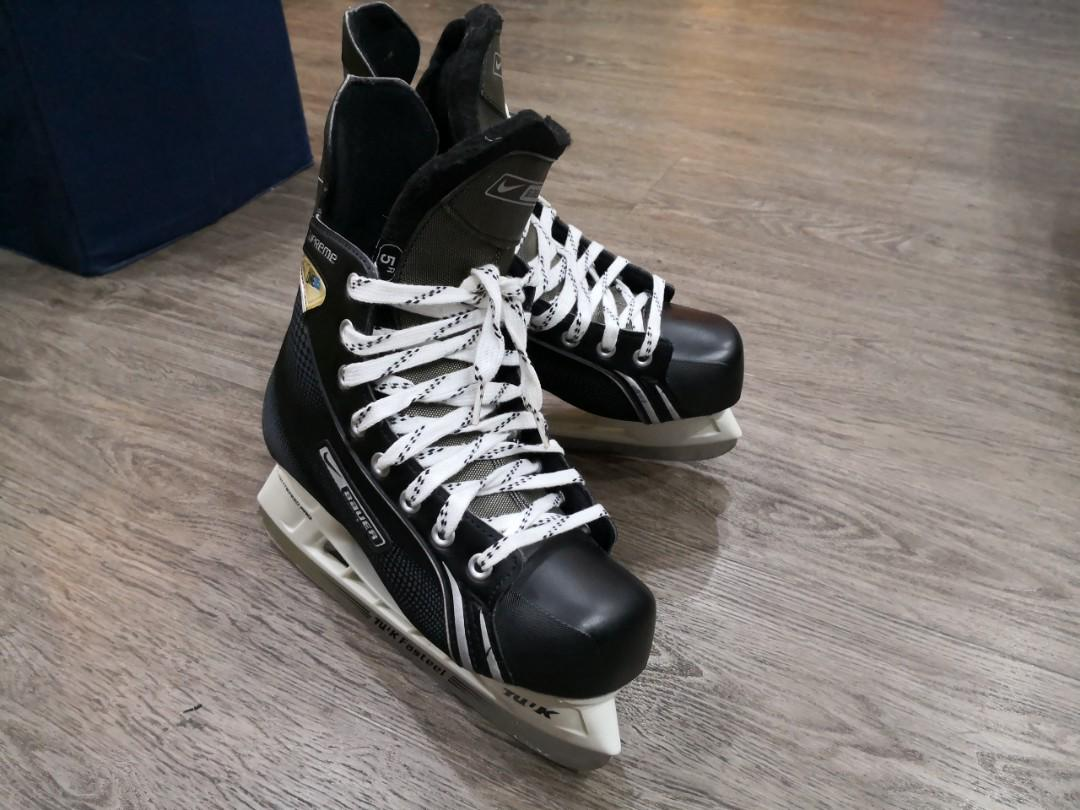 Torpe Edición techo  Nike Bauer Supreme One05 Hockey Skates, Sports, Sports & Games Equipment on  Carousell