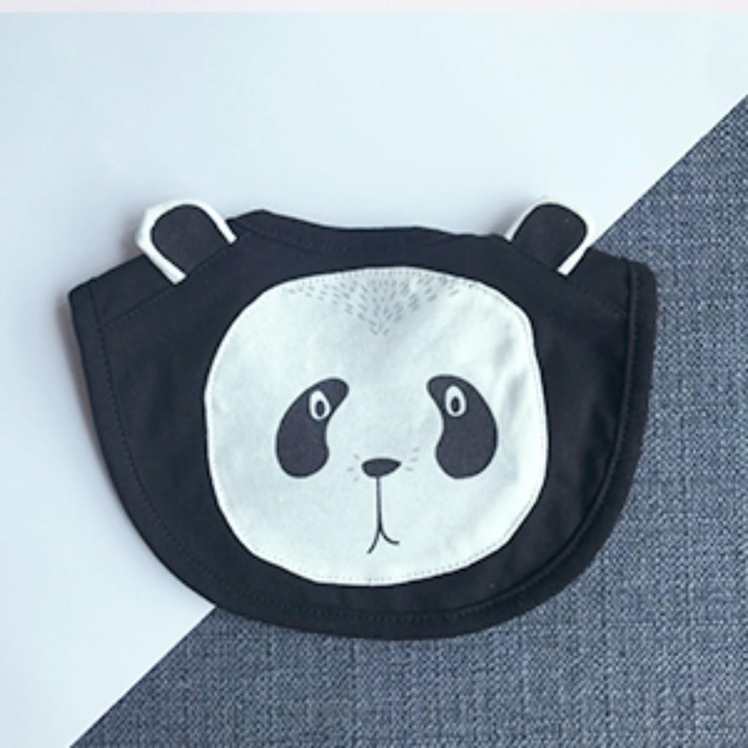 Panda - Cotton Bib
