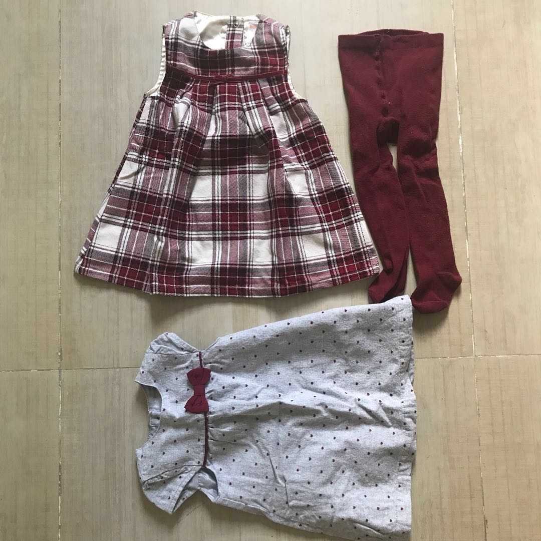 6ef0ab647 Primark and Gymboree Maroon Dress, Babies & Kids, Girls' Apparel on ...