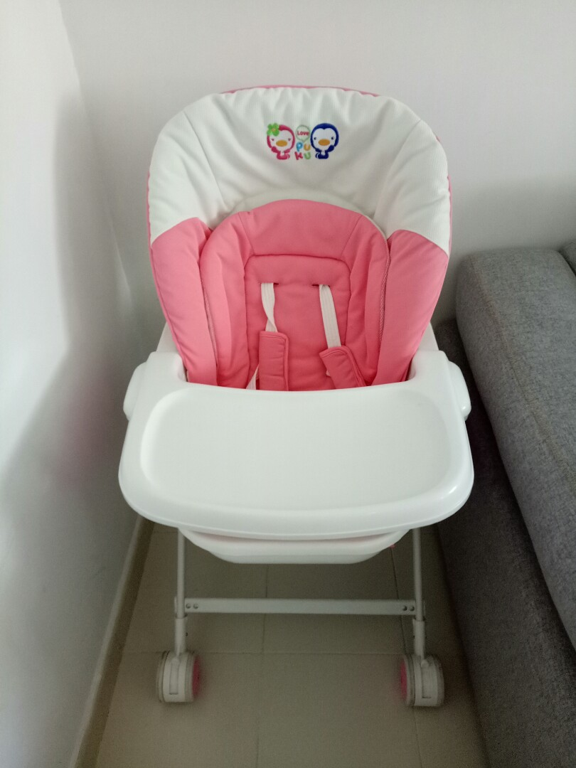 1a02602a4 PUKU Baby 2 in 1 Swing Bed High Chair