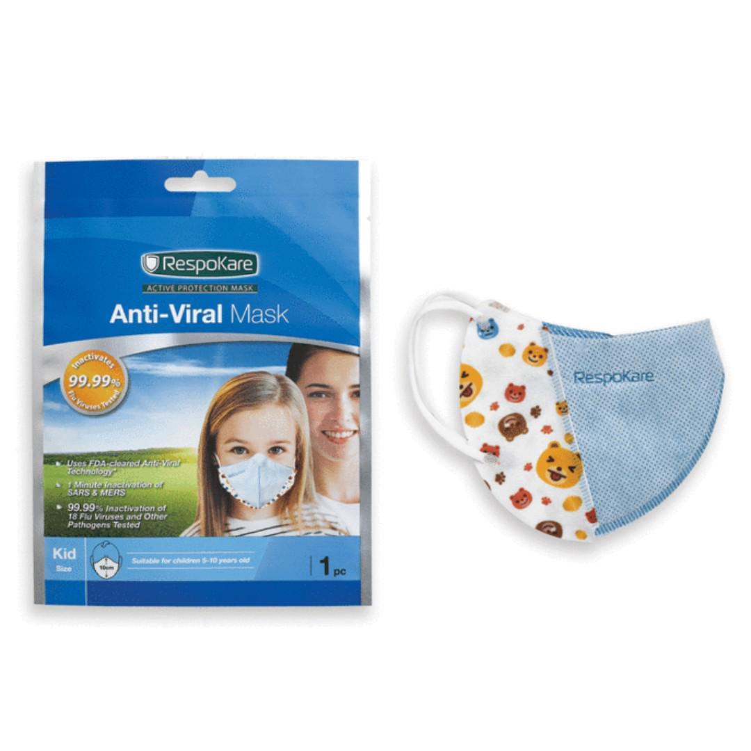 anti virus mask kids
