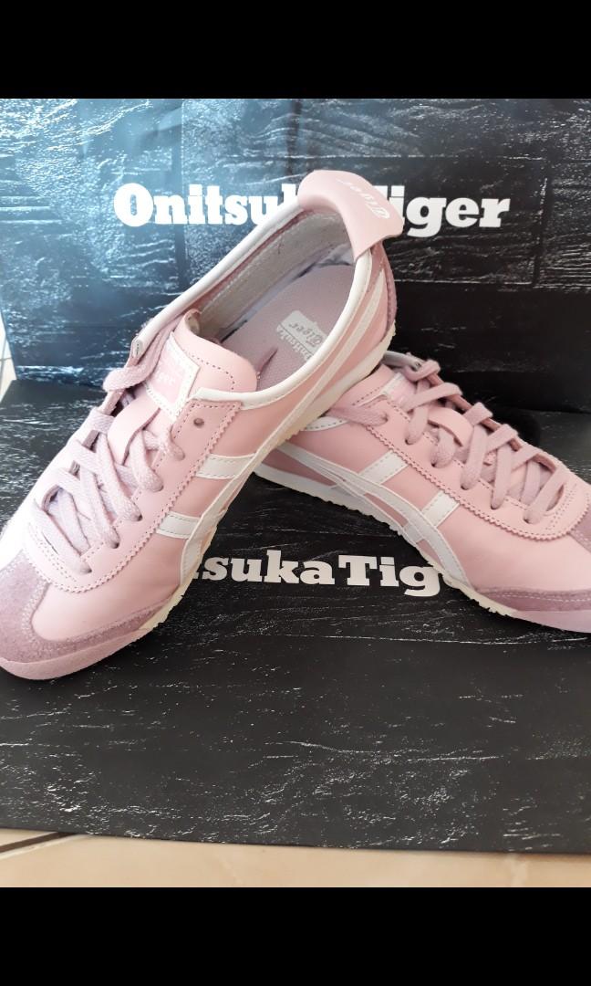 Sepatu Onitsuka Tiger Pink Fesyen Wanita Di Carousell
