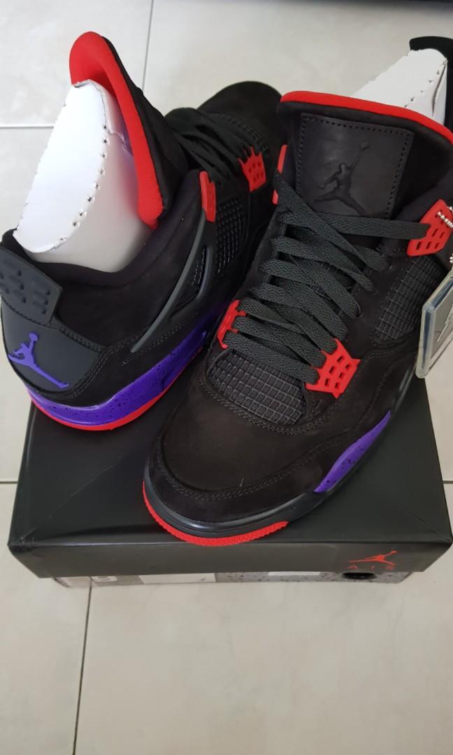 b32bb476a14128 Sold  Air Jordan 4 Raptors QS