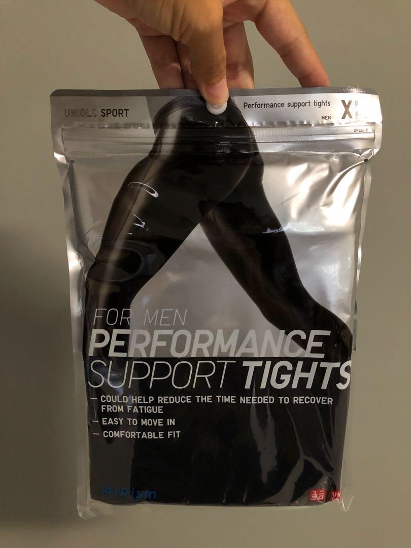 200056b91c9e5 Uniqlo AIRism Performance Support Tights (XL), Sports, Sports ...