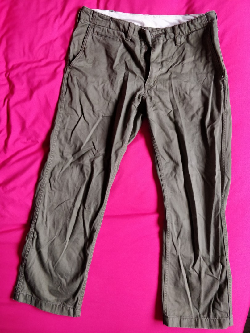 Uniqlo Khakis Mens Fashion Clothes Bottoms On Carousell Maxx Training Jogger Pants Deep Blue Okechuku