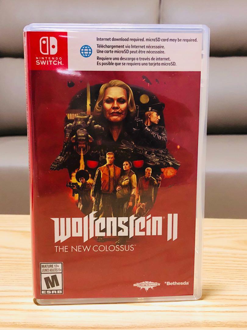 Wolfenstein 2 The New Colossus Nintendo Switch