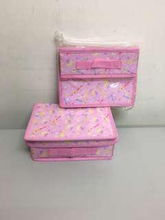 Sailor moon 美少女戰士收納盒 $35@1 $100@3 包平郵/西鐵線交收