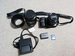 Samsung NX1000 Set with Crumpler Bag
