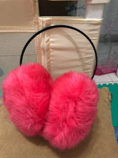 🚚 粉紅耳罩