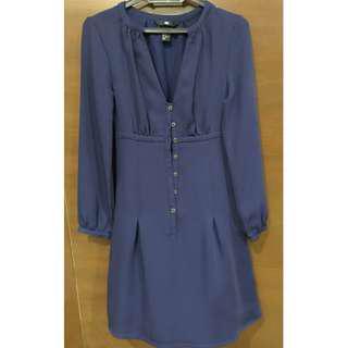 H&M Long Sleeved Dress Size US 2