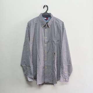 Tommy Hilfiger Striped Collar Shirt
