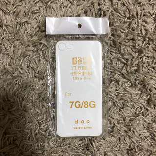 Iphone 7/8 透明軟膠殼套
